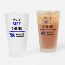 Unique Siff Drinking Glass