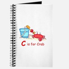 CRAB ON BEACH Journal