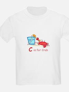 CRAB ON BEACH T-Shirt