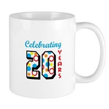 CELEBRATING TWENTY Mugs