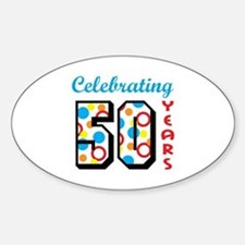 CELEBRATING FIFTY Decal