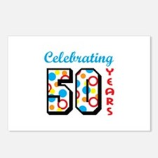 CELEBRATING FIFTY Postcards (Package of 8)