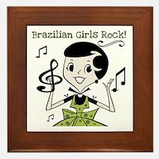 Brazilian Girls Rock Framed Tile