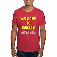 Welcome to Kansas T-Shirt