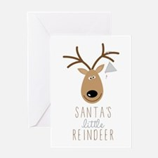 Little Reindeer Greeting Cards
