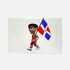 Dominican Republic Boy Rectangle Magnet