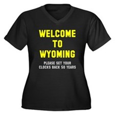 Wyoming Plus Size T-Shirt