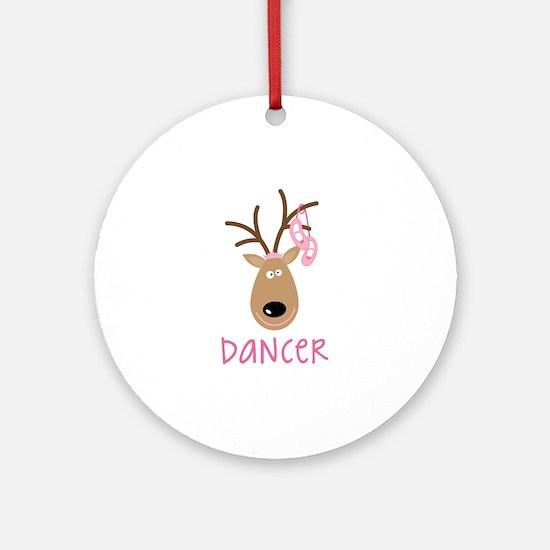 DANCER Ornament (Round)