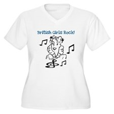British Girls Rock T-Shirt