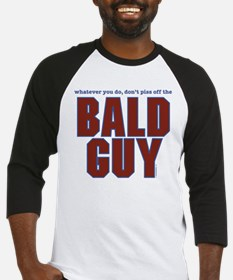 Don't Piss Off the Bald Guy Baseball Jersey