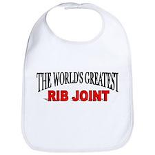 """The World's Greatest Rib Joint"" Bib"
