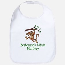 Bestemor's Little Monkey Bib