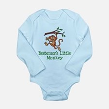 Bestemor's Little Monkey Body Suit