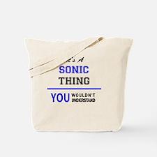 Cute Sonic Tote Bag