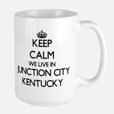 Keep calm we live in Junction City Kentucky Mugs