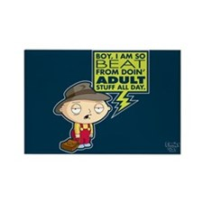 Family Guy Stewie Adult Rectangle Magnet