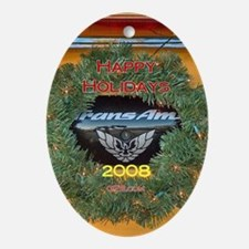 2008 CFB Oval Ornament