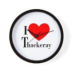 I Love Thackeray Wall Clock