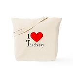 I Love Thackeray Tote Bag