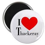 I Love Thackeray Magnet