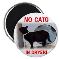 Cat in Dryer Magnet