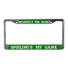 Grandma's Name #2 License Plate Frame