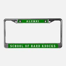 School of Hard Knocks #2 License Plate Frame