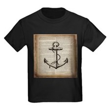nautical vintage anchor T-Shirt