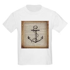 nautical vintage anchor T-Shirt