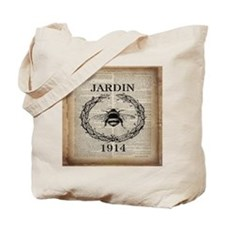 vintage french bee Tote Bag