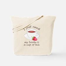 BOOKS AND TEA Tote Bag
