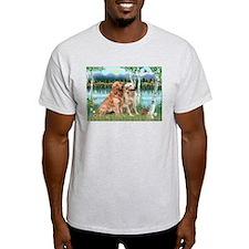 Birches / Golden T-Shirt