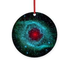 Helix Nebula Ornament (Round)