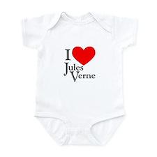 I Love Jules Verne Infant Bodysuit