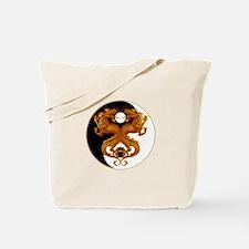 Yin Yang Dragons 7 Tote Bag