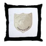 U S Immigration Inspector Throw Pillow