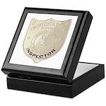 U S Immigration Inspector Keepsake Box