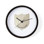 U S Immigration Inspector Wall Clock