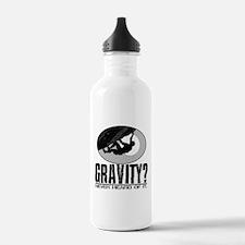 Gravity? Rock Climber Water Bottle