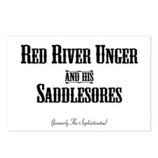 RED RIVER - Postcards (Package of 8)