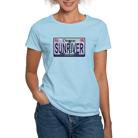 Oregon Plate - SUNRIVER Women's Light T-Shirt