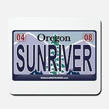 Oregon Plate - SUNRIVER Mousepad