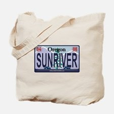 Oregon Plate - SUNRIVER Tote Bag