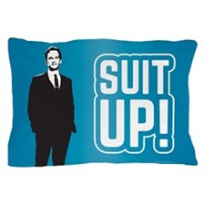 HIMYM Suit Up Pillow Case