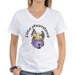 Little Irish Witches Women's V-Neck T-Shirt