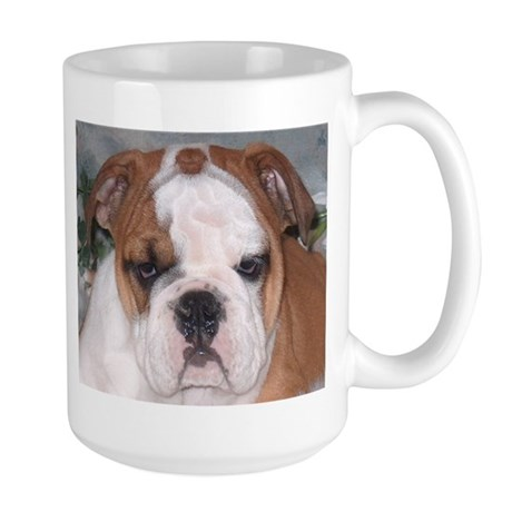Large Beautiful English Bulldog Coffee Mug
