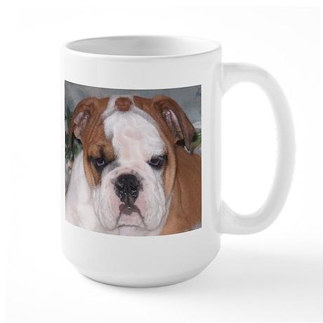 Large Beautiful English Bulldog Coffee Mug