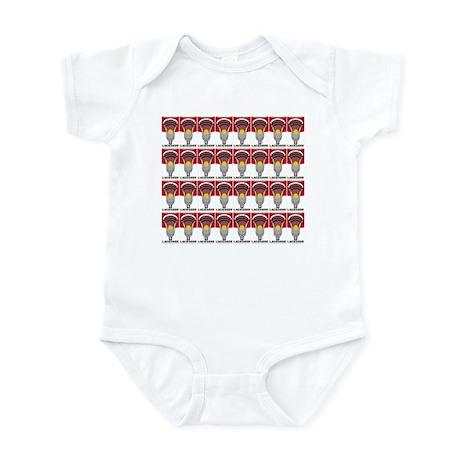 Lacrosse Soup Infant Bodysuit