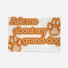 Grand-dog Rectangle Magnet (10 pack)