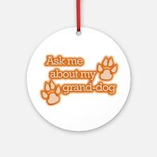 Grand-dog Ornament (Round)